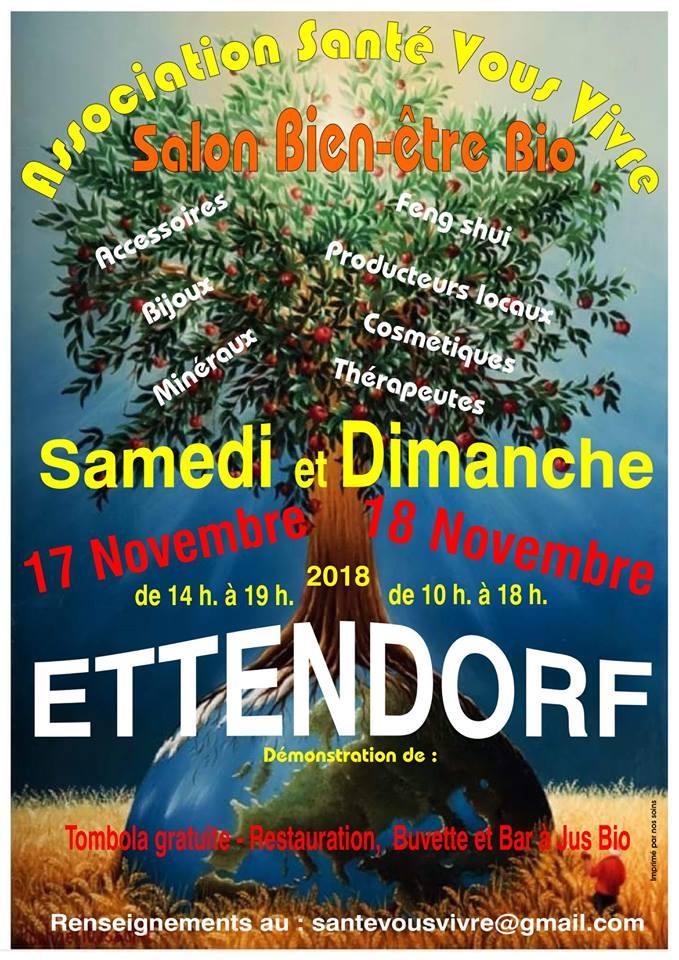 Salon Bien-être Bio @ Ettendorf | Ettendorf | Grand Est | France